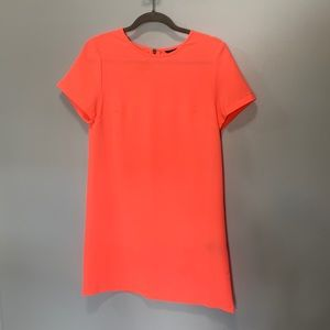 Felicity and Coco bright orange coral dress XS